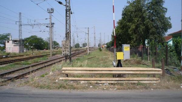 Снимка: Отново колизия между влак и автомобил на прелез