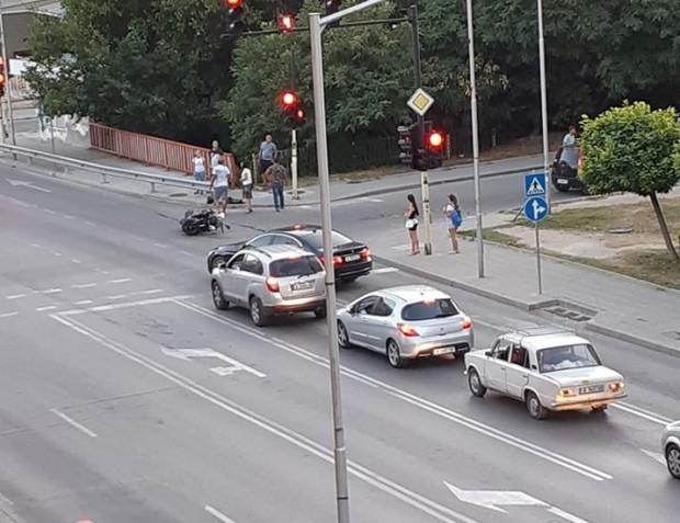 Виждам те КАТ-ВарнаНа 13.08. т.г., около 20:10 часа, на кръстовище