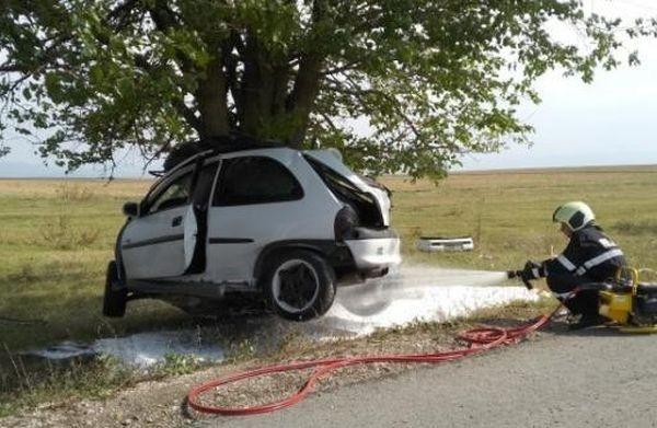 Снимка: Ужасът край Ракитница, при който загина млад мъж, не е пътен инцидент. Самоубийство е!