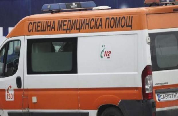 Снимка: Автобус и кола се удариха челно край Кочериново, двама загинаха