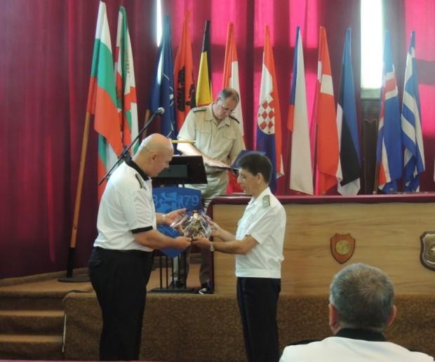 На 19 август заместник-командирът на Военноморските сили флотилен адмирал Георги