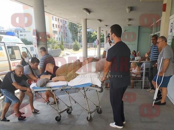 Стефан Данаилов е приет в бургаската болница МБАЛ