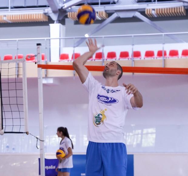 За четвърта поредна година волейболна академия
