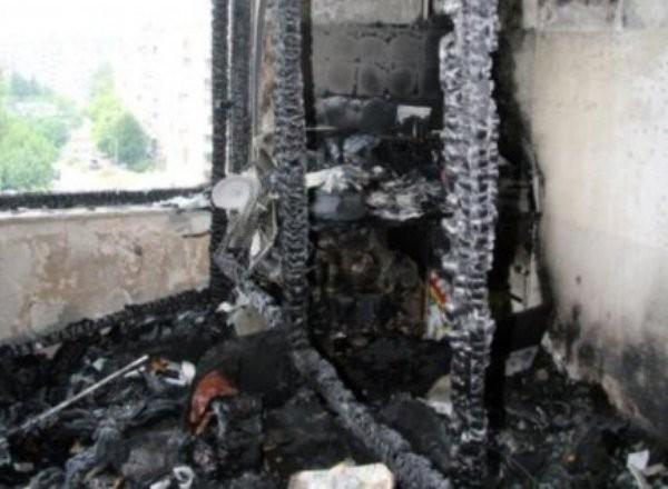 > АрхивОт огъня е унищожено оборудването и обзавеждането в апартамента,