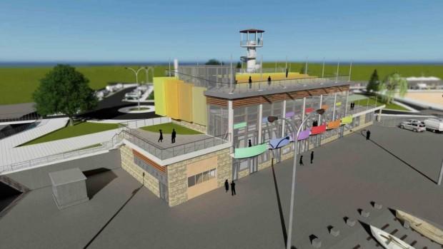 Очаква се след изграждането си новото рибарско пристанище в местност