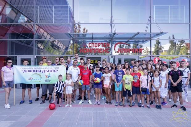 Матей Казийски изненада децата, които са част от четвъртия Национален