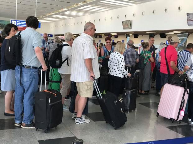 Варненското летище също беше сред