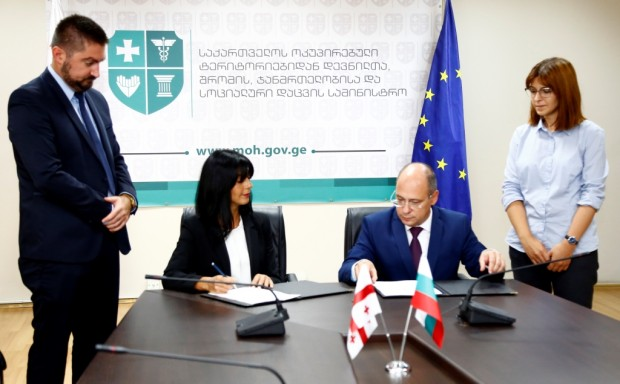 Успешно приключи първият кръг от преговорите между България и Грузия