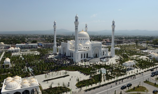 ReutersВластите в руската Чеченска република откриха по думите им най-голямата
