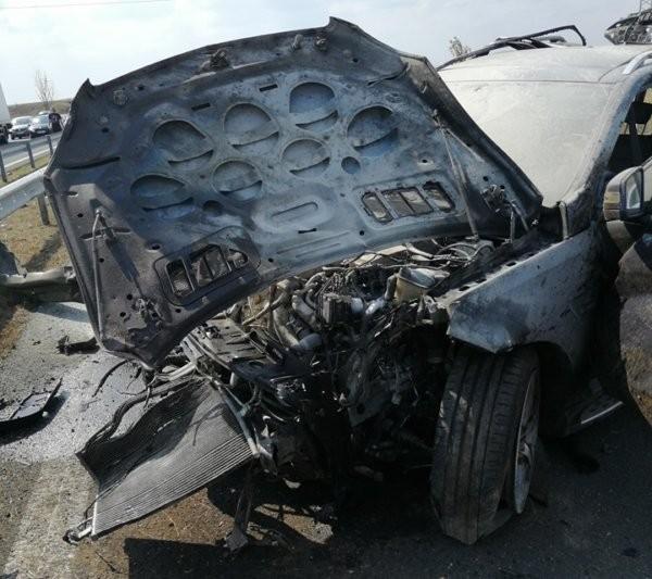 Фейсбук Страховитата катастрофа стана вчера на 255 км от АМ