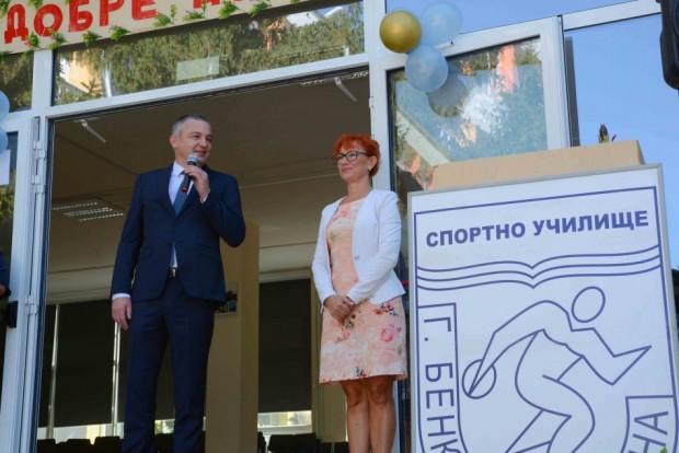 Кметът на Варна Иван Портних присъства на откриването на новата
