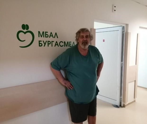 Стефан Данаилов се завръща на сцената само дни след инцидента,