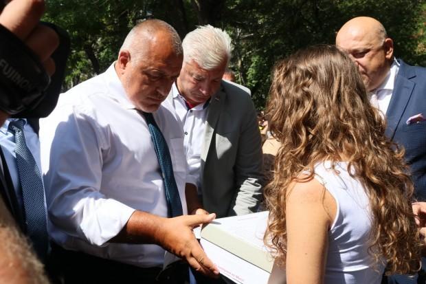 Борисов посочи, че е доволен от вида накрайдунавския град и