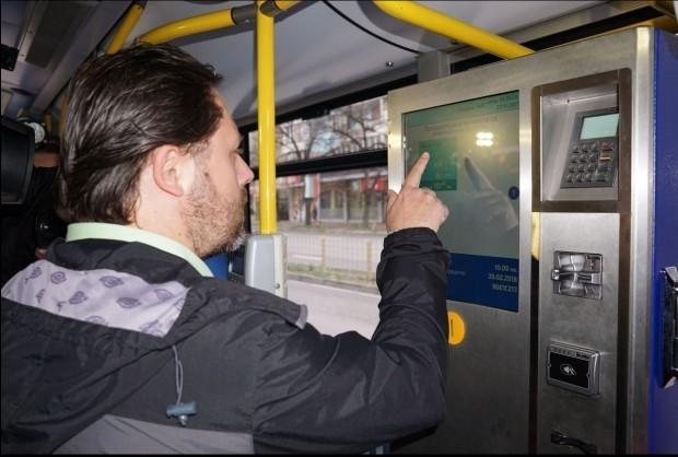 До края на следващата седмица във всички автобуси във Варна