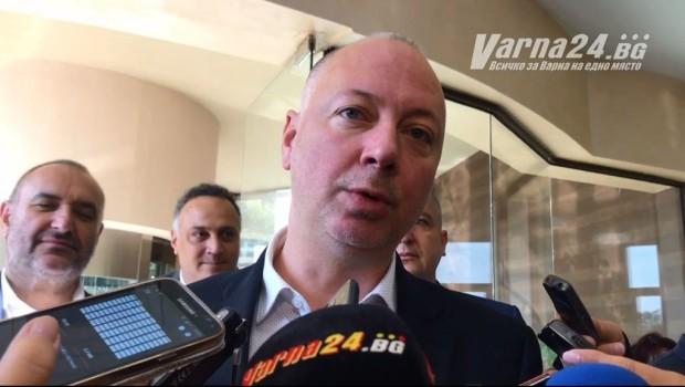 Росен Желязков, предаде репортер на Varna24.bg.Той откри международната конференция