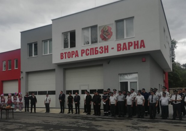 Министърът на вътрешните работи Младен Маринов откри обновената сграда на