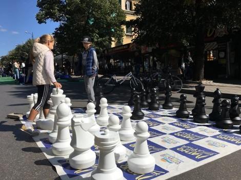 Снимка: Центърът на Варна се превръща в царство за релакс, забавления и спорт в деня без автомобили