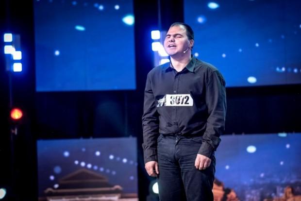 Незрящият Андриян Асенов предизвика истински фурор с появата си на