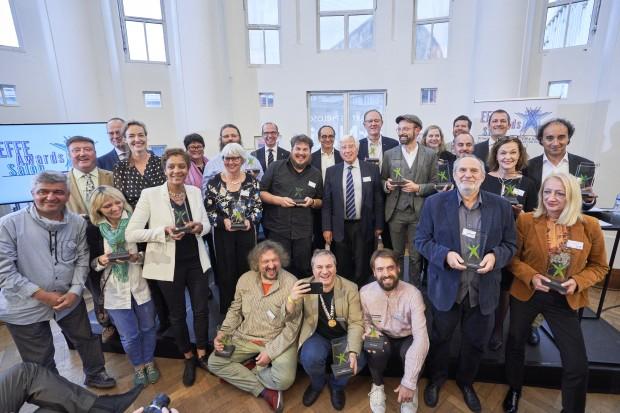 На церемония в Центъра за изящни изкуства Бозар в Брюксел