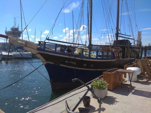 """Все още не е ясно дали култовото корабче Санта Марина"""","""