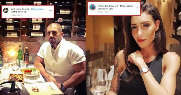 Новият любовник на Златка Димитрова – фитнес инструкторът Кирил Танев,