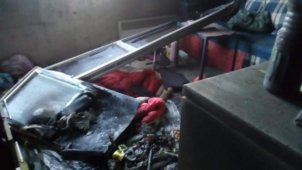 АрхивПо време на пожара на инцидента 44-годишния бургазлия скочил от