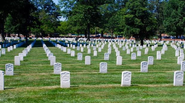Предварително записано съобщение на бивш ирландски войник беше пуснато напогребението