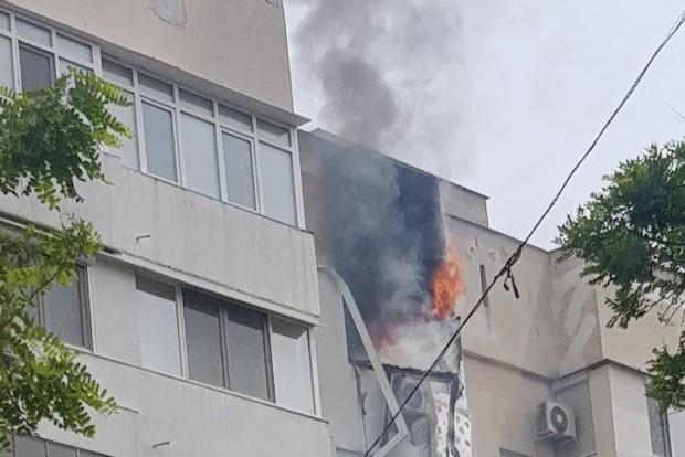 АрхивПричината за инцидента е неправилно използване на нагревателен уред. Унищожени
