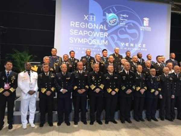От 15 до 18 октомври командирът на Военноморските сили на