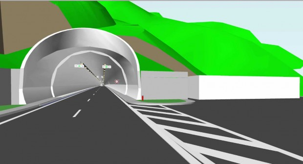 Започна строителството на тунел