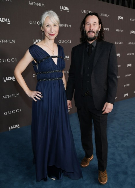 Getty ImagesАктьорът Киану Рийвс се появи на събитие с приятелката