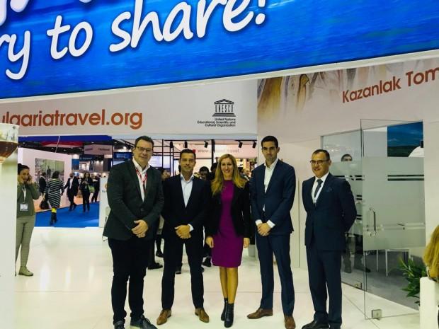 Министърът на туризма Николина Ангелкова проведе работна среща в Лондон