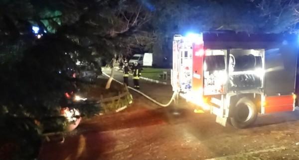 БГНЕСКомин на ресторант в Благоевград се запали в събота вечер.