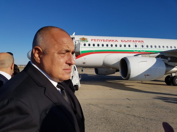 Министър-председателят Бойко Борисов пристигна във Вашингтон, където днес предстои да