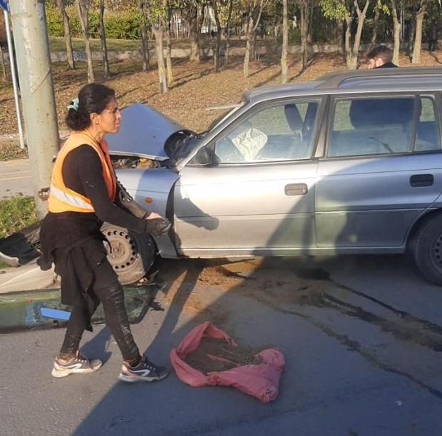 Виждам те КАТ-Варна60-годишна шофьорка е изгубила контрол над управлявания от