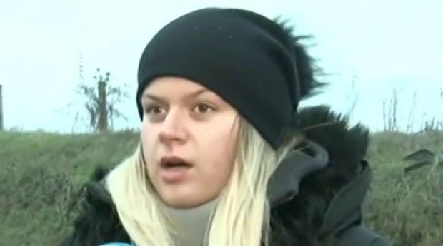 Снимка: 23-годишната Михаела на косъм от смъртта на АМ