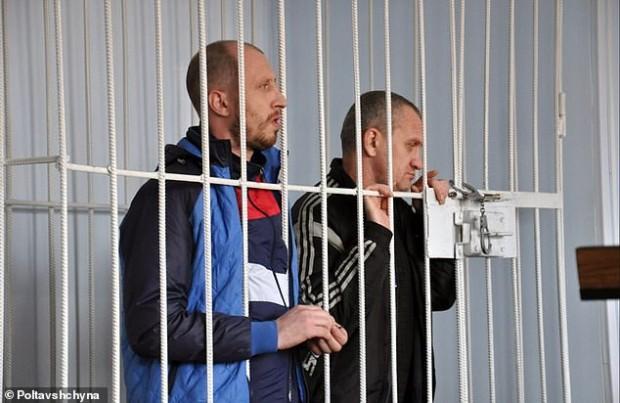 > Убийците на мъжа и жената39-годишният Генадий Андреев и неговият