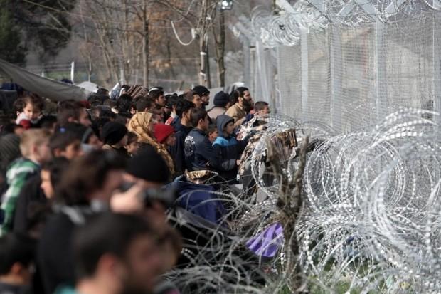 Турските власти по охраната на границите в района на Одрин