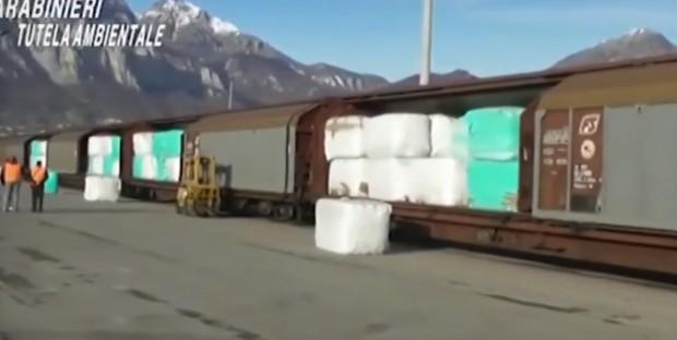 Полицията в Италия залови 815 тона боклуци за България. Незаконният