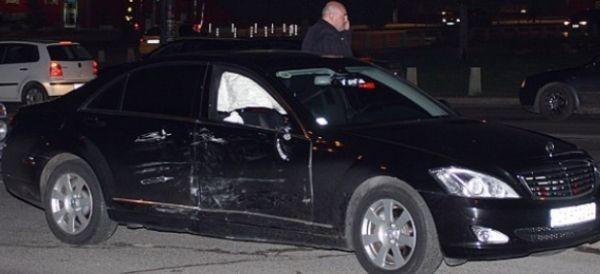 > За тежка катастрофа с автомобил на НСО в София
