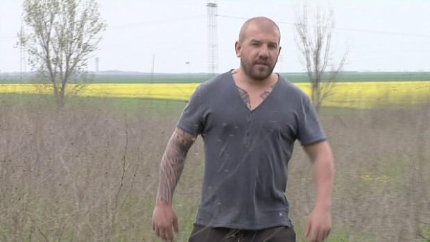 bTVДинко Вълев, станал известен като ловец на бежанци, днес стана