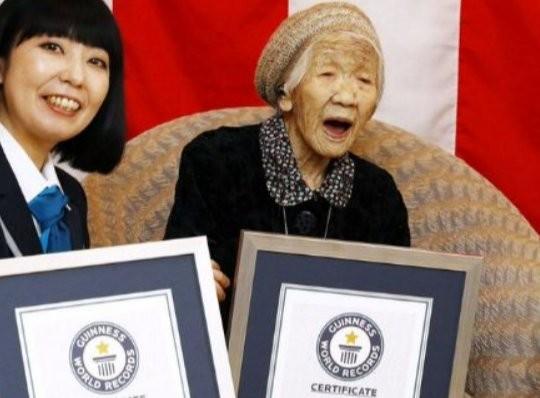 Японката Кане Танаканавърши 117 години и подобри постижението си като