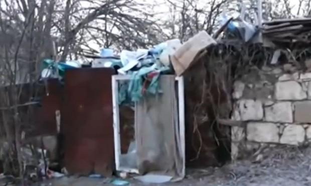 Частен имот, превърнат в сметище, тормози обитателите на цяла улица