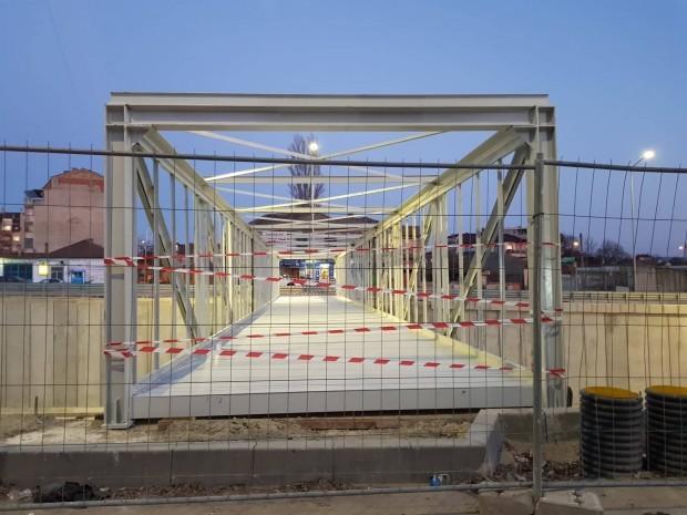 АрхивПродължава изграждането на кръговото кръстовище на бул.