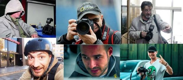 ФейсбукФотоизложба-хепанинг на последните останали 6 работещи фоторепортерa за медии във