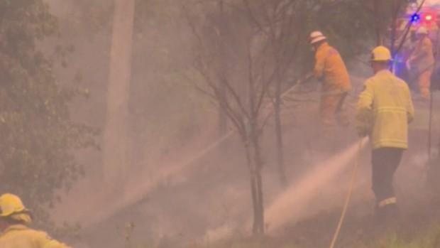 Снимка: Самолет за гасене на пожари се разби в Австралия, има и загинали