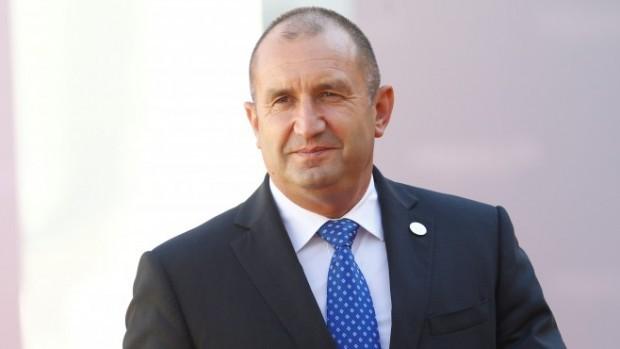РойтерсДържавният глава на България Румен Радев участва в Петия международен
