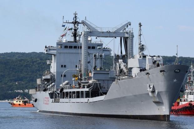 > ИлюстрацияВ състава на групата са кораби от ВМС на