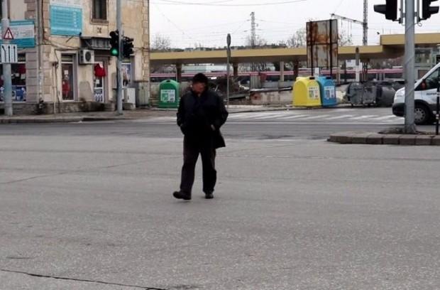 Целта на операцията е намаляване на травматизма при пешеходците, които