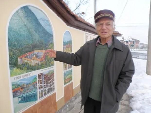 Истински патриот е 78-годишен архитект, който сътвори 21 манастира върху